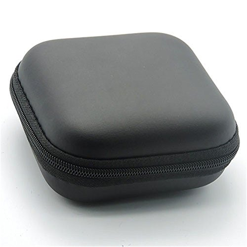 ink2055 Square Hard Eva Case Portable Storage Bag For Earbud/Headphone/USB Cable