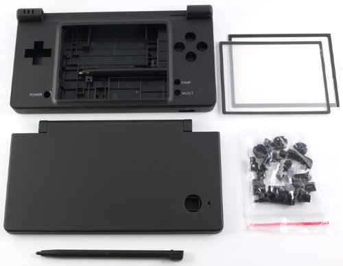 - Matte Black Nintendo DSi Complete Full Housing Shell Case Replacement Repair Fix [video games]