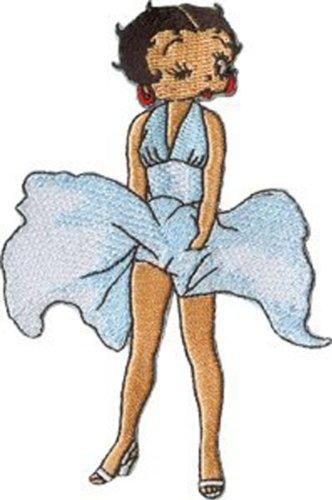 Betty Boop Vintage Cartoon Patch - 4.5