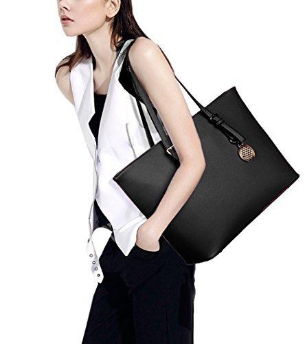 Bolso para mujer, whobabe señoras bolso de tipo cartera de hombro bolsos Messenger bolsas de piel sintética bolsos bolso de mano