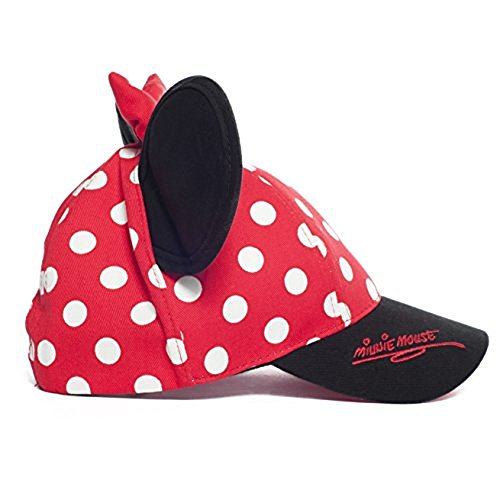 Minnie Mouse Walt Disney World Polka Dot Snapback Cap with Ears - Disney Parks Exclusive