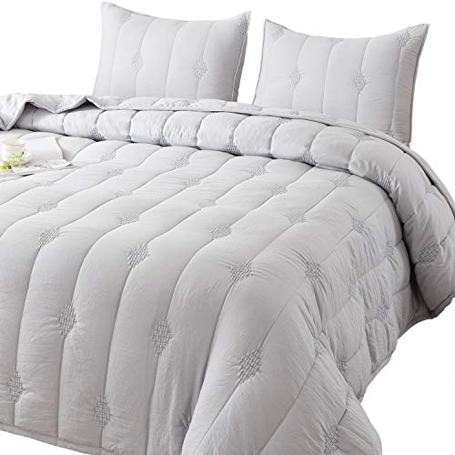 Ethan Comforter Quilt Stone