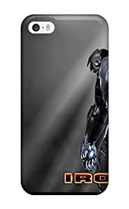 Durable Defender Case For Iphone 5/5s Tpu Cover(iron Man)
