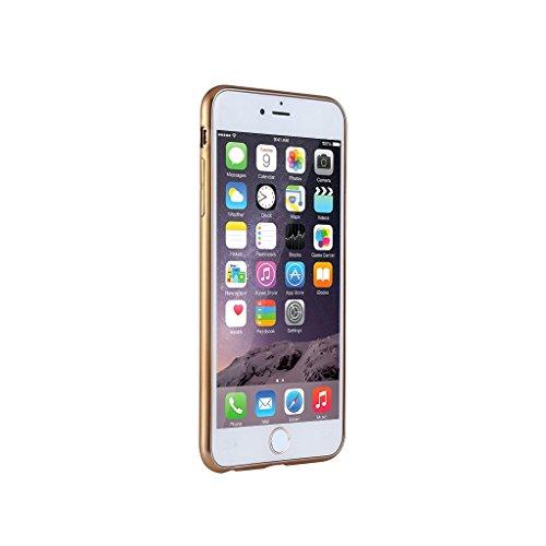 FBA-KrygerShield® Apple iPhone 6S Plus, 6 Plus Gel Case - Electroplated - Gold