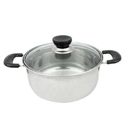 Amazon.com: Acero inoxidable leche hirviendo Pan de cocina ...