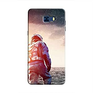 Cover It Up - Space Water Walk Galaxy C7 Pro Hard Case