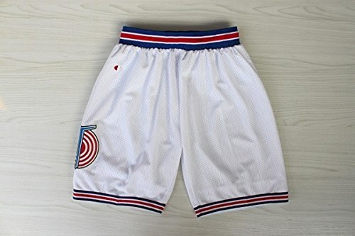 Space Jam Basketball Tune Squad Shorts - White -