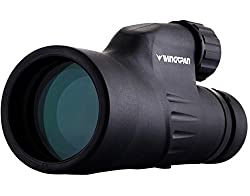 Wingspan Optics Explorer High Powered 12x50 Monocular. Bright & Clear. Single Hand Focus. Waterproof. Fog Proof. For Bird Watching, Or Watching Wildlife. Daytime Use. Formerly Polaris Optics