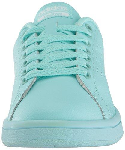 adidas donne pulite cloudfoam vantaggio occasionale scarpa evidente aqua