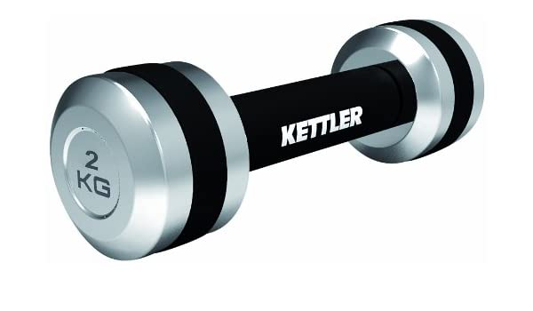 Kettler - Mancuernas (2 Unidades), Color Cromo: Amazon.es: Deportes y aire libre