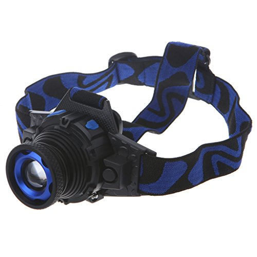 LIYUDL Brightest Zoomable Headlamp,XM-L Q5 5500 Lumen flashlight - 3 Modes Rechargeable Headlight Flashlights,Hard Hat Light, Bright Head Lights, Running or Camping headlamp by LIYUDL (Image #7)