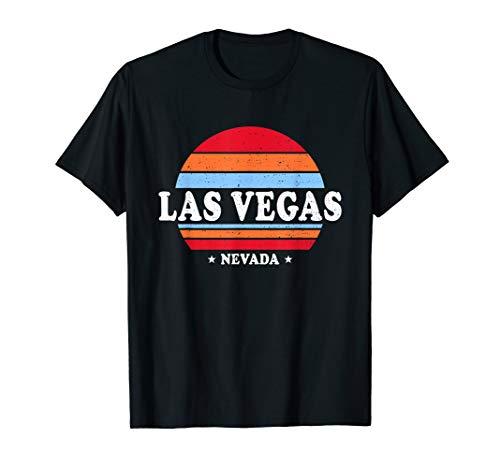 Retro 70's Las Vegas Nevada Shirts Vegas Strip Souvenir Gift T-Shirt (Las Vegas Wiesen)