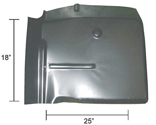 60-66 GM Truck Replacment Style Cab Floor Section – RH