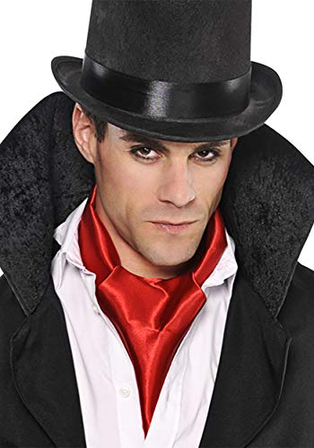 Amscan Red Vampire Scarf, Standard, -