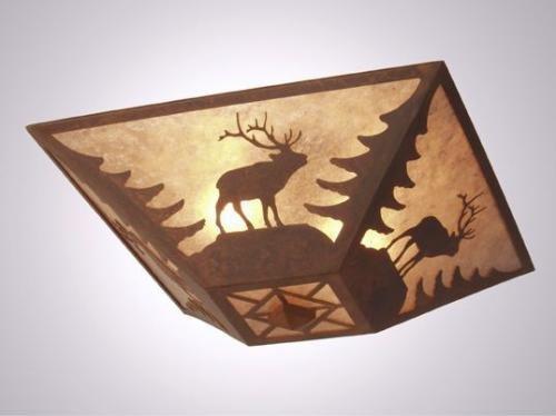 (Elk Drop Ceiling Mount)