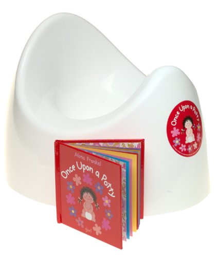 Once Upon a Potty POTTY GIFT BOX with mini-book -- GIRL