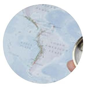 alfombrilla de ratón brújula y mapa - ronda - 20cm