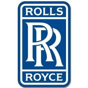Rolls-Royce British car styling sticker emblem 3
