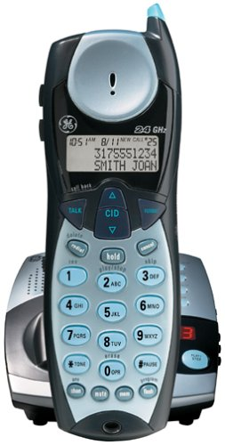amazon com ge 27993 2 4 ghz analog cordless phone with digital rh amazon com GE Cordless Phones Product GE Cordless Phones with Alarm