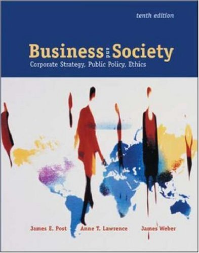 Business & Society: Corporate Strategy, Public Policy, and Ethics  with PowerWeb and Enron Case