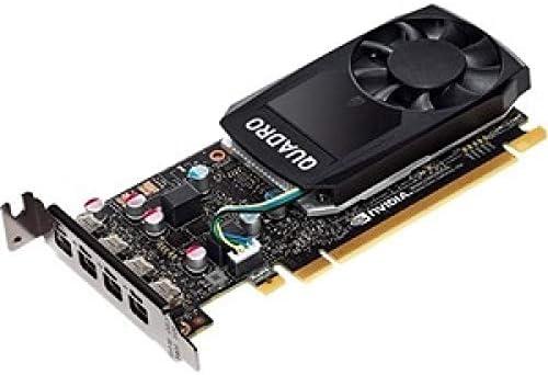 PNY VCQP1000DVIBLK-1 Quadro P1000 4GB GDDR5 scheda video