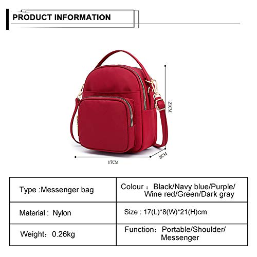 Handbags Bags Multi Messenger Tote Women splash Badiya Small bag Water Green Pocket Anti Shoulder Purse Crossbody PqpvwS