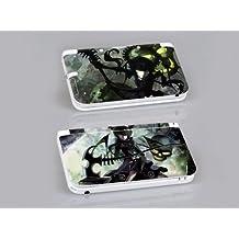 Nintendo 3DS XL BLACK ROCK SHOOTER: DEAD MASTER Protective Vinyl Skin Decal Set