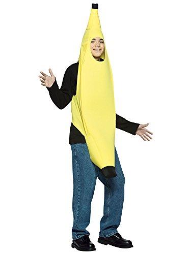 Rasta Imposta Teen Banana Halloween Costume, One Size