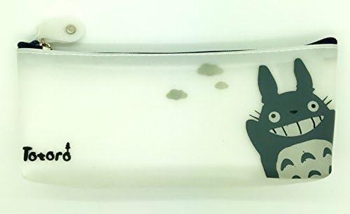 PartyErasers - Estuche para lápices, de silicona, con diseño de Totoro: Amazon.es: Oficina y papelería
