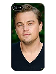 2014 New Dirtproof Snowproof fashionable TPU Cool Leonardo Dicaprio Protection Case for iphone 5/5s