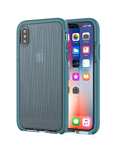 tech21 ●● ● Evo Wave Case for Apple iPhone X - Teal