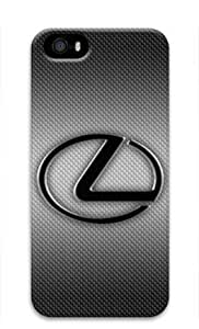 Lexus Car Logo-003 Iphone 5/5S Hard Protective 3D Case by eeMuse