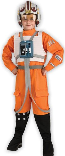 Star Wars Child's X-Wing Pilot Costume, (Childrens Star Wars Costumes)