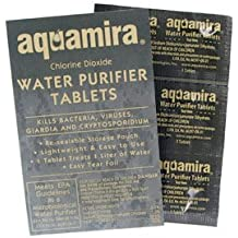 Aquamira Technologies Water Purifier Tablets (10-Pack)