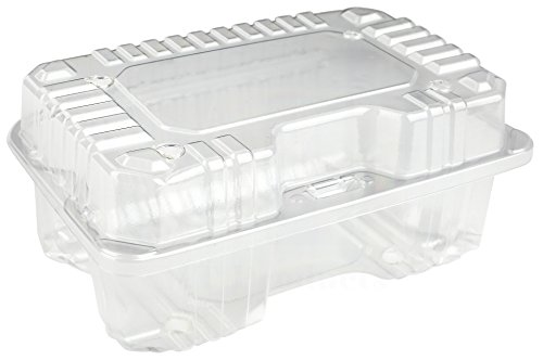 - Clear Plastic Strawberry/Produce Vented 1 Quart Berry Basket/Container by MT Products - (15 Pieces)