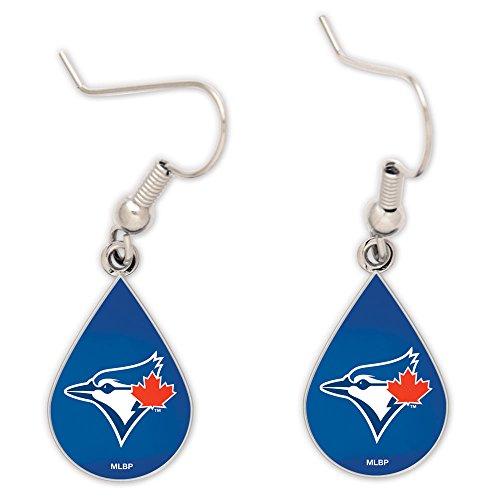 (Wincraft MLB Toronto Blue Jays Tear Drop Earrings, Large, Multi)
