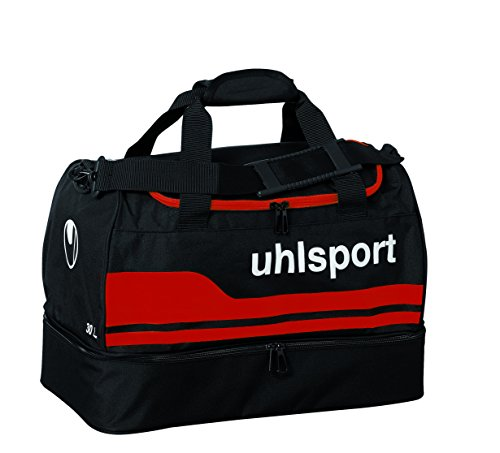 Uhlsport Player (uhlsport Men's Basic Line 2.0 Players Bag 30 Litre Black / Red)