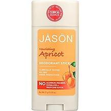 Jason Apricot Aluminum and Paraben Free Deodorant Stick, 2.5 Ounce