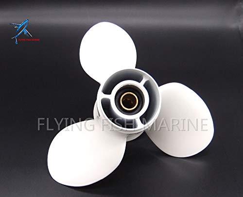Boat Parts & Accessories 9 1/4X10-J Boat Engine Aluminum Alloy Propeller for Yamaha 9.9Hp 15Hp Outboard Motors Parts 9 1/4 X 10 -J