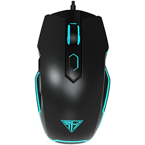 Insist I Tron Pro Pc Gaming Mouse  8200 Dpi Avago 9800 Laser Sensor Omron Switch Rgb Laser Professional Gamer Mouse