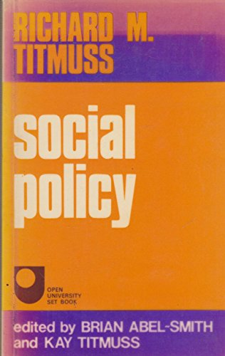 Social Policy: An Introduction