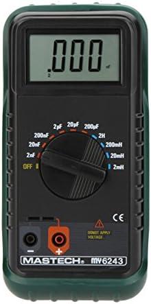 MASTECH MY6243 Portable Digital LC Meter Capacitance Meter Capacitor Inductance Meter Tester