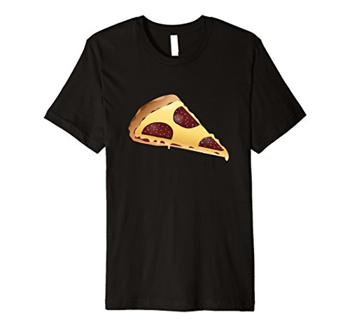 Mens National Pizza Day November 12 Emoji Tshirt Small Black