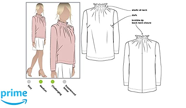 Sizes 04-16 Nell Cape - Click for Other Sizes Available Style Arc Sewing Pattern