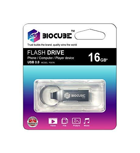Biocube Flash Drive 16  GB USB 3.0 pendrive