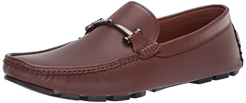 (Unlisted by Kenneth Cole Men's Hope Driver D Driving Style Loafer Cognac 13 M)