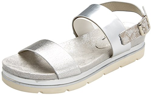 ouvert bout à sandales platine pour 47742 argent Xti femmes w1q7x6OO