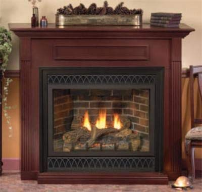 Empire EMBF3SC Standard Cabinet Mantel with Base - Cherry -