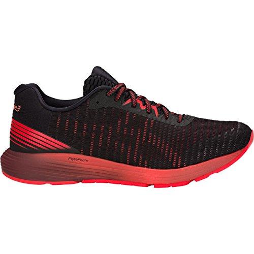 (ASICS 1011A002 Men's Dynaflyte 3 Running Shoe, Black/Red Alert - 14 D(M))