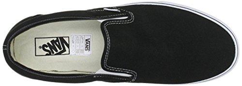 Trainers Vans Unisex Zapatos Canvas Negro Blanco Classic on Slip 0UxqvBOUw